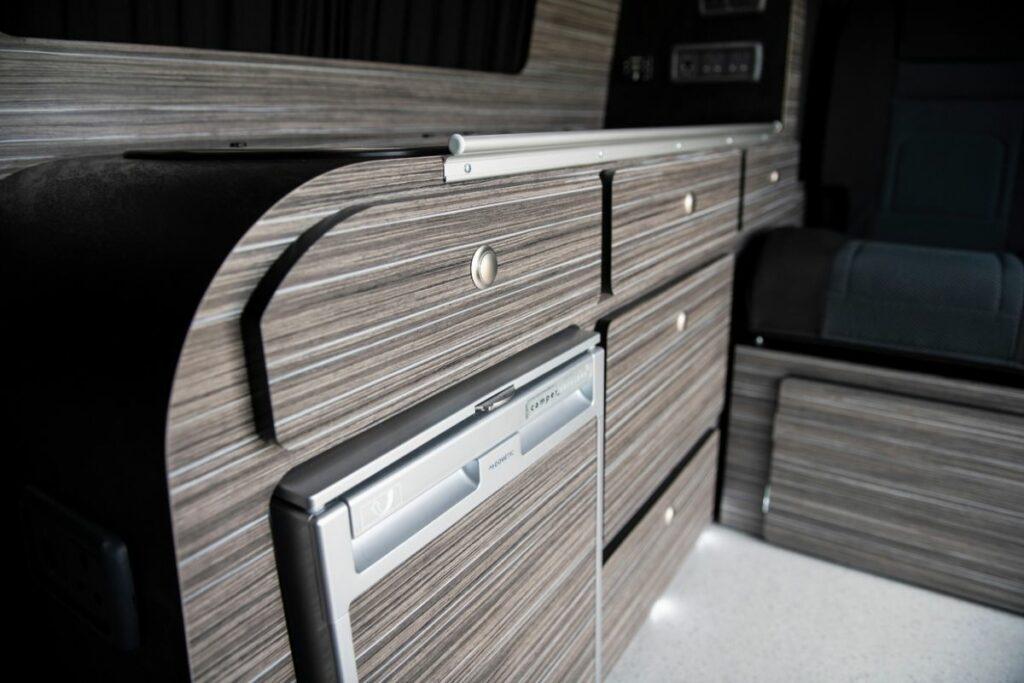 Campervan storage solutions