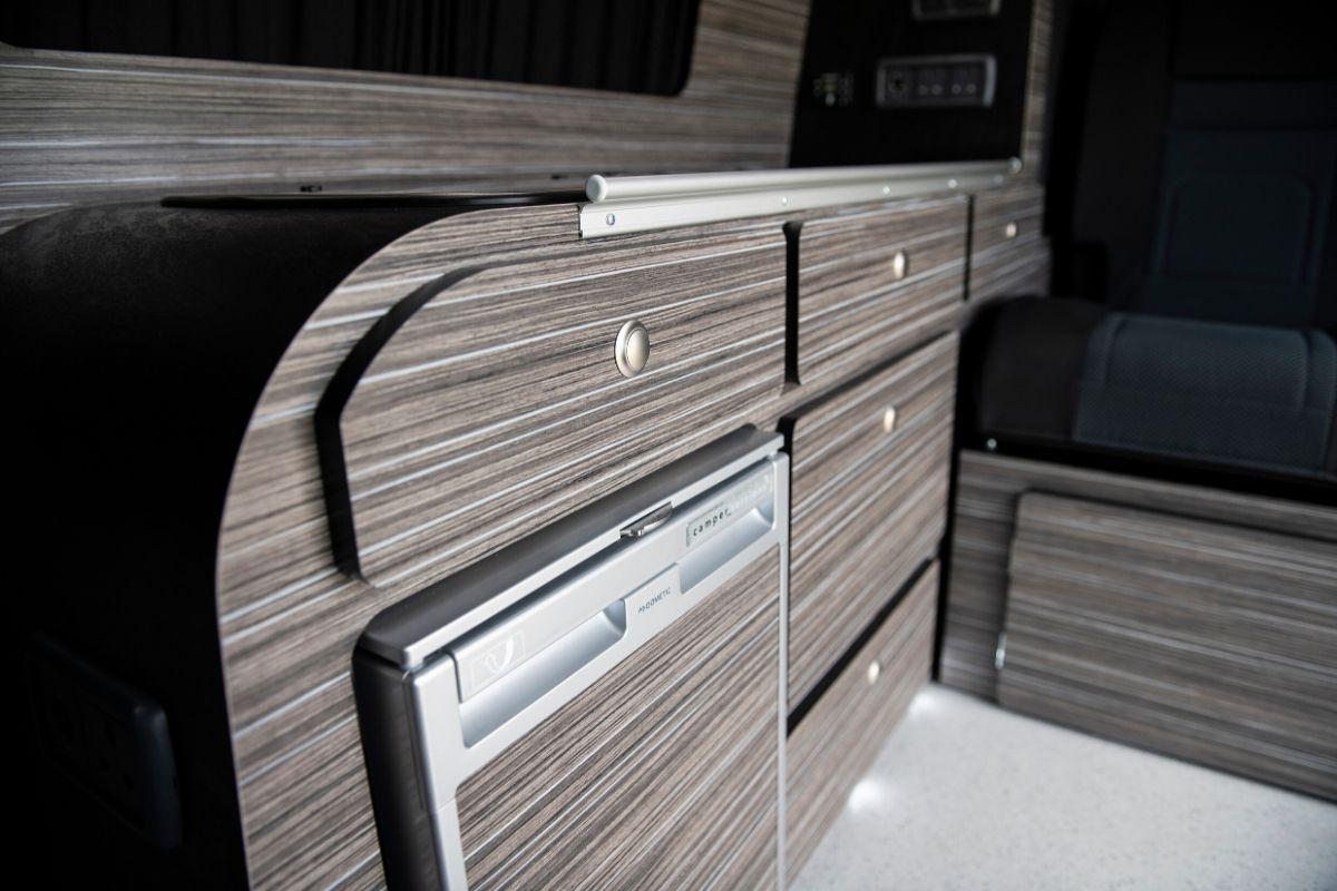 small campervan storage ideas