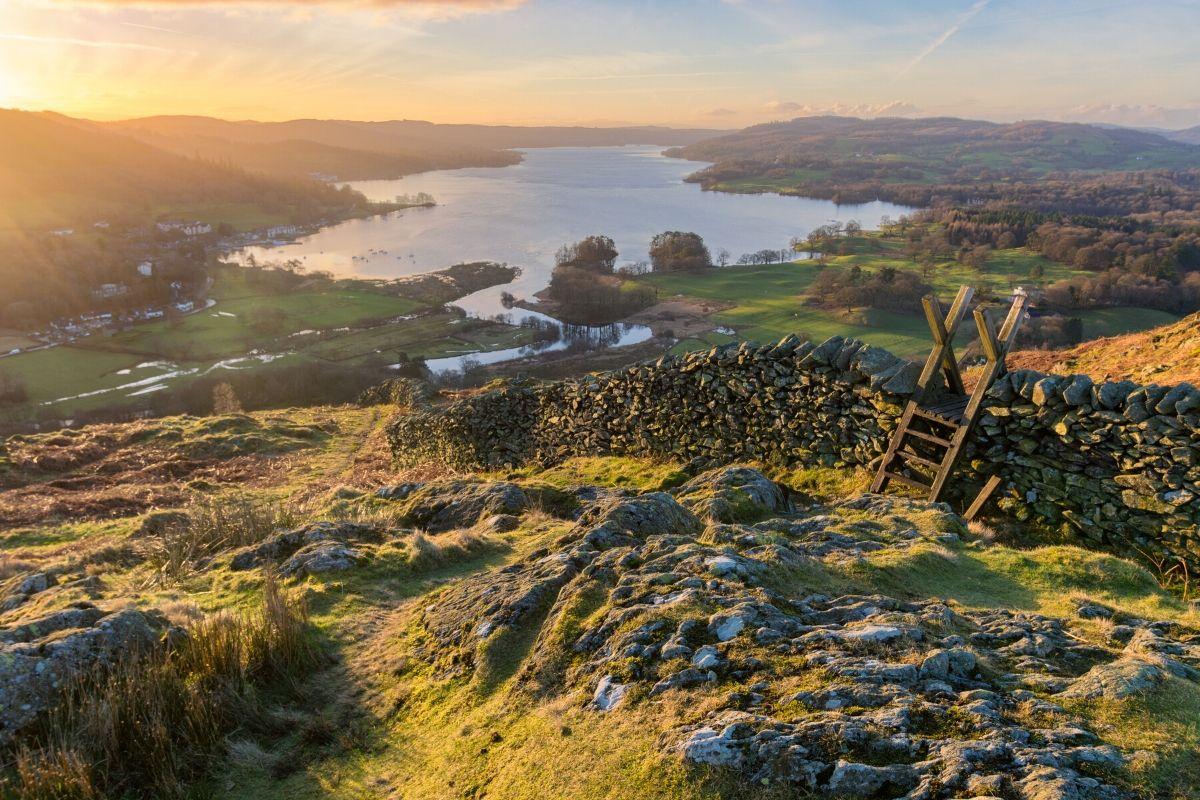 Lake District Sunrise UK scenic road trip